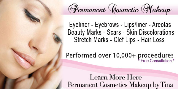 permanent makeup New Port Richey, Tarpon Springs, Palm Harbor, Tampa, Florida